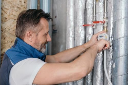 Документи за въвеждане на водомер в експлоатация след монтаж и проверка.